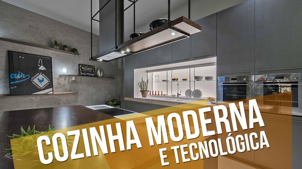 Cosinha Moderna Cosinha Moderna Cozinha Moderna Com Piso Xadrez