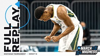 Baylor vs. Villanova: 2021 NCAA tournament Sweet 16   FULL GAME