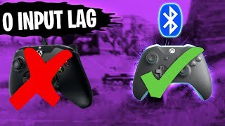 Fortnite GET *ABSOLUTELY* NO INPUT LAG ON CONTROLLER 🎮 0ms Response Time | Controller Input Lag Fix