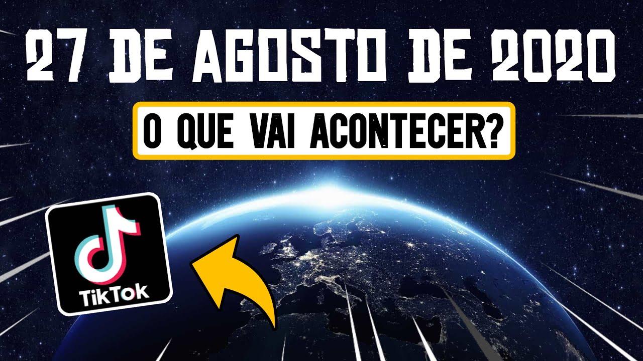 🔴 REVELADO? O que vai acontecer em 27 de agosto de 2020?  ENTENDA 🔴