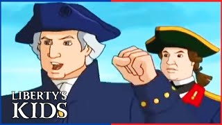 Liberty's Kids 110 | Washington Takes Command | History Cartoon