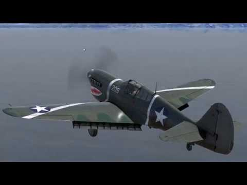 P-40F Warhawk: Aircraft Carrier Touch & Go Flight