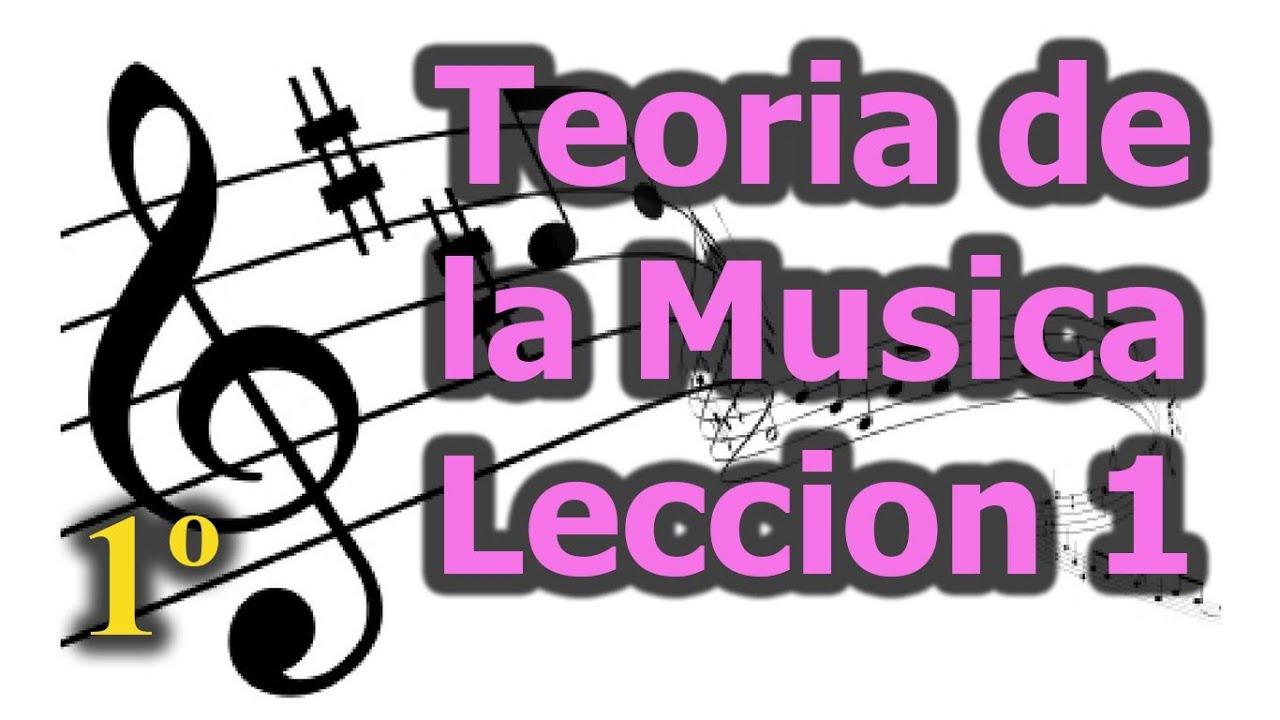 Teoria de la musica, leccion 1, Curso de teoria musical gratis ...