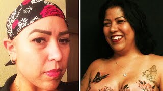 Breast Cancer Survivor Gets A Mastectomy Tattoo