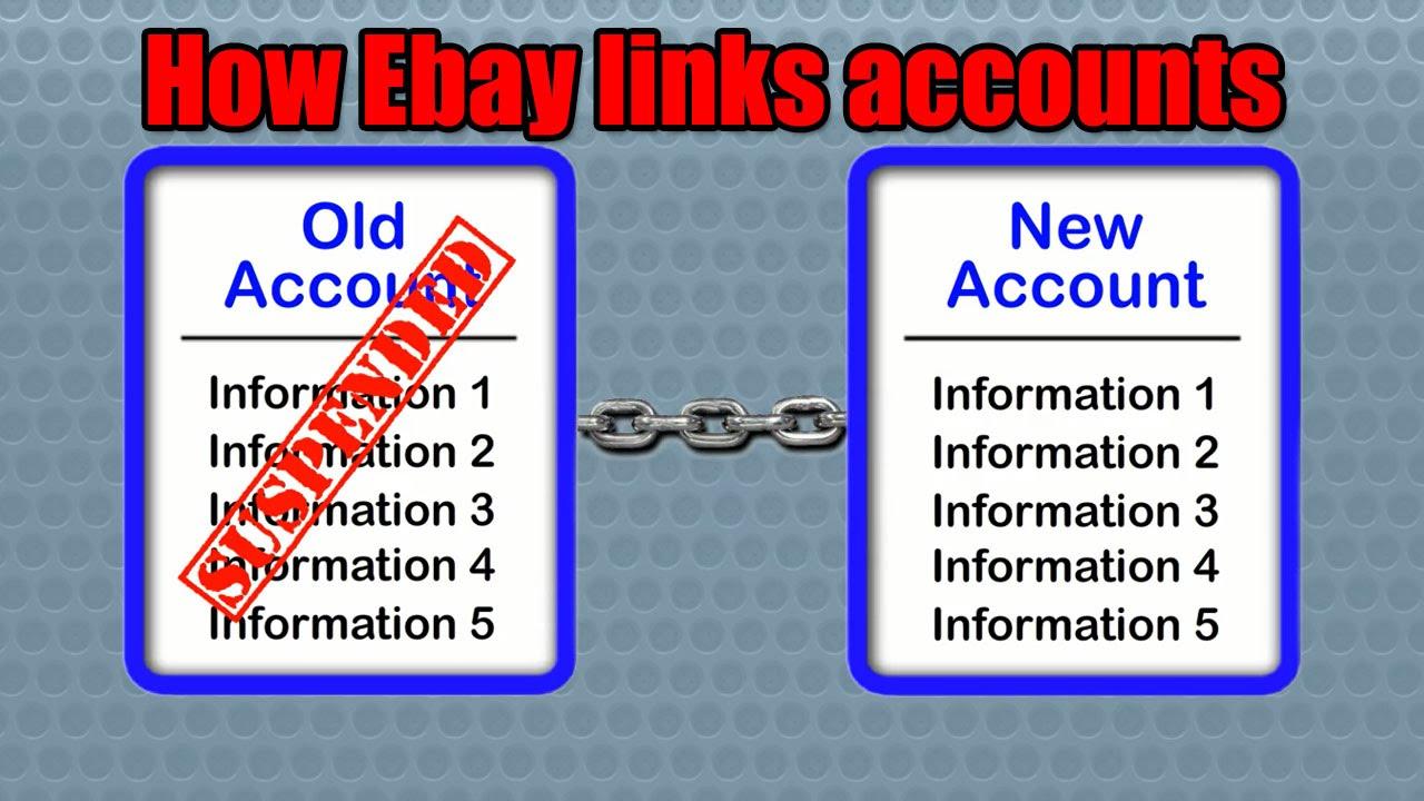 How Ebay links accounts