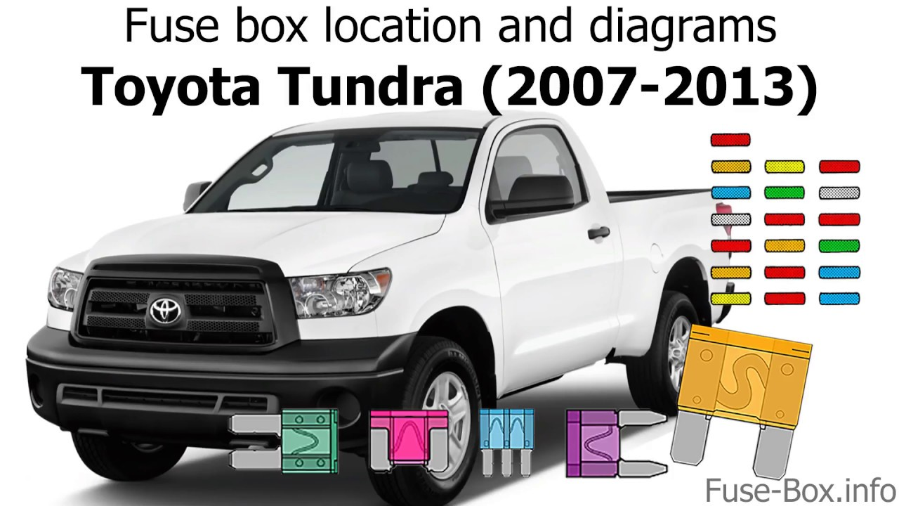 [SCHEMATICS_4LK]  Fuse box location and diagrams: Toyota Tundra (2007-2013) - YouTube | 2007 Tundra Fuse Box Location |  | YouTube