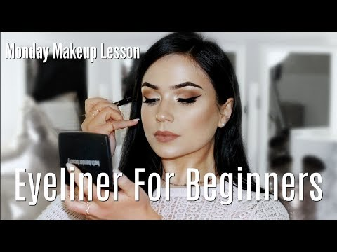 Beginner Eye Liner Makeup Tips & Tricks