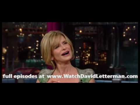 Kyra Sedgwick in Late Show with David Letterman 2010-07-15