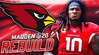 Deandre Hopkins Arizona Cardinals Rebuild | Madden 20 Franchise