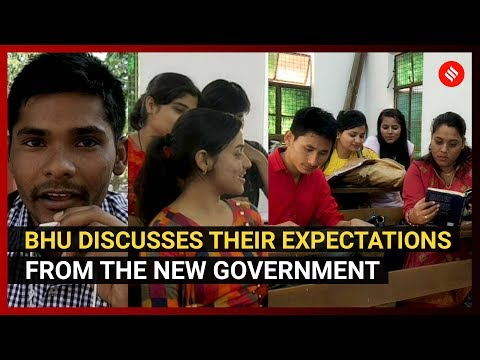 election-2019:-bhu-discusses-their-expectations-from-the-new-government