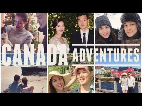 Korea to Nova Scotia, Canada   Travel Montage 국제커플 캐나다 노바스코샤 여행 몽타주