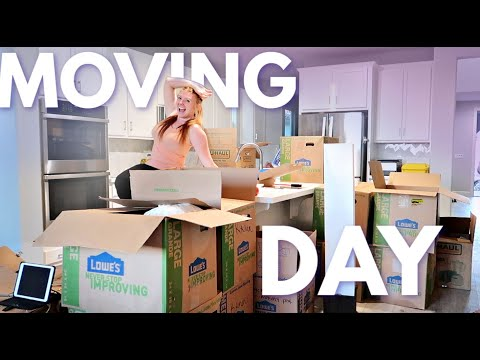 *OFFICIAL* MOVING DAY - Moving Our ENTIRE Life In 24 Hours!