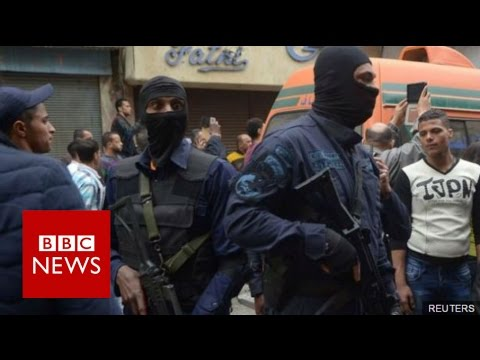 Egypt state of emergency: 'Sisi has to bee seen to be doing something' - BBC News