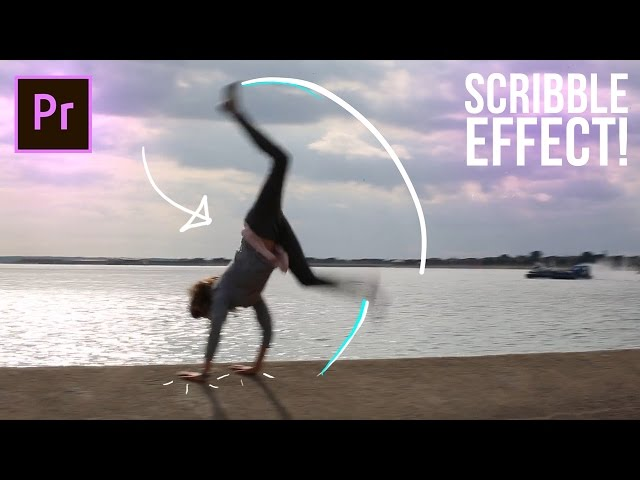 How to SCRIBBLE Animation write-on line effects in Adobe Premiere Pro CC Tutorial (No After Effects)