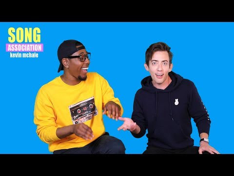 KEVIN MCHALE sings Troye Sivan, Mario, and Cyndi Lauper | SONG ASSOCIATION