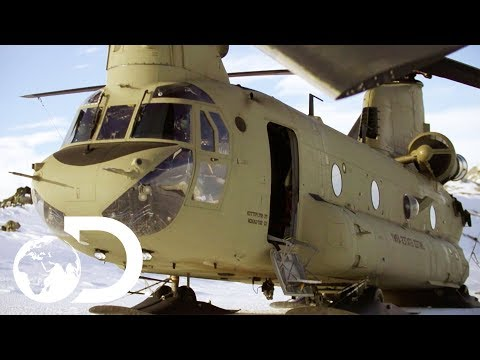 US Army Massive Chinook Helicopter | Alaska Mega Machines