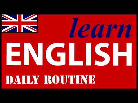 Daily routine in English | English Lessons for Learners