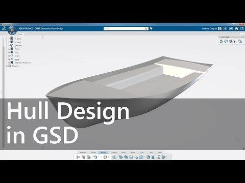How to create a hull in Generative Shape Design