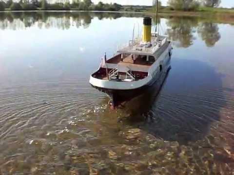 SS Nomadic,1ere mise a l'eau