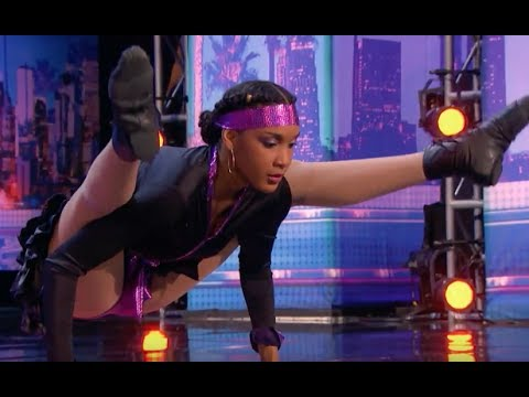 Shemike Limbos Under the CAR and Amazes the Judges  Week 3  America's Got Talent 2017
