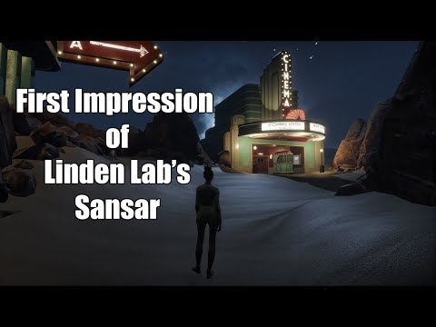 First Impression of Linden Lab