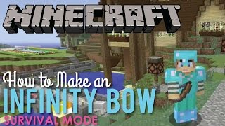 How to Make an Infinity Bow in Minecraft Survival Mode