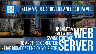 Web Server and Browser View in Xeoma Private and Business Security System Software
