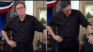 Entertainer Stephen Colbert ist den Tränen nah, als er über Trumps Verhalten nach der Wahl spricht