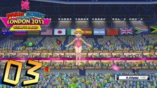 Mario and Sonic at the London 2012 Olympic Games: Part 3 - Gymnastics