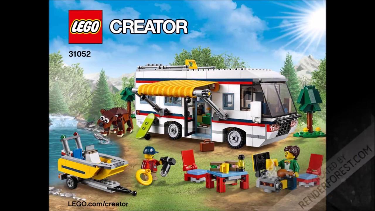 Lego Creator 31052 Vacation Getaways 3 In 1 Instructions Diy Book