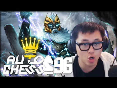 Double Zeus Does So Much Damage   Amaz Auto Chess 96