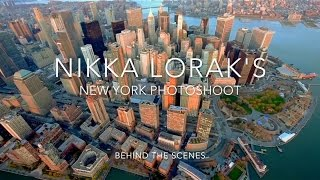 NYC photoshoot Behind the scenes