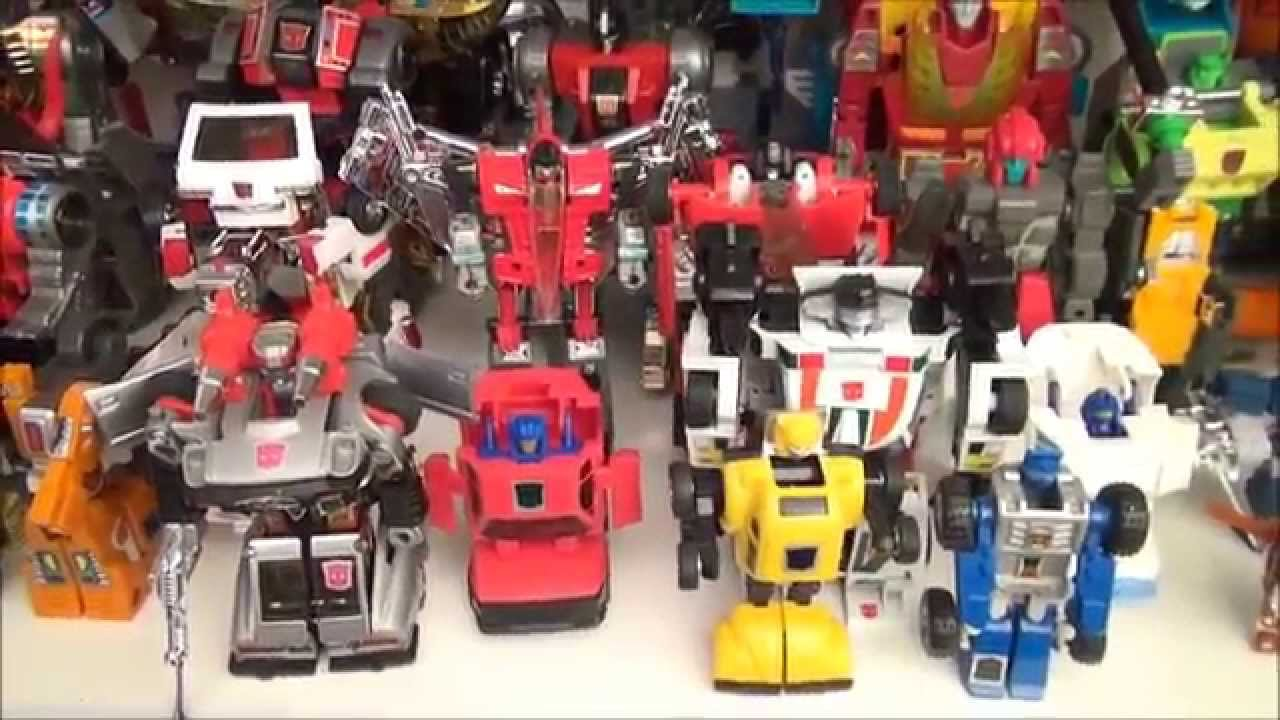 Transformers Generation One Toy Collection Video Youtube