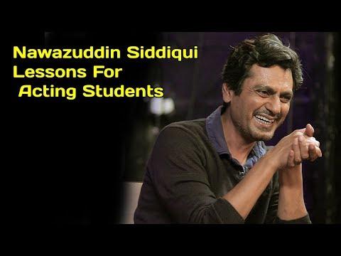 Nawazuddin Siddiqui Acting Tips for  Film Students|Secret Behind Nawazuddin Acting Mp3