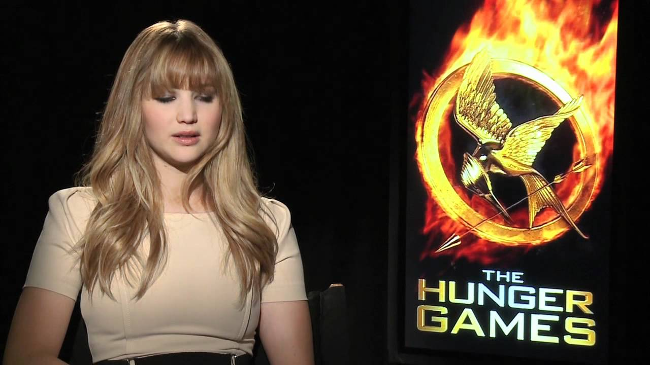 The Hunger Games Interviews Lawrence Katniss Hutcherson