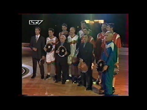 "1998. Баскетбол. Матч Легенд. ""Жальгирис"" - ""ЦСКА""."