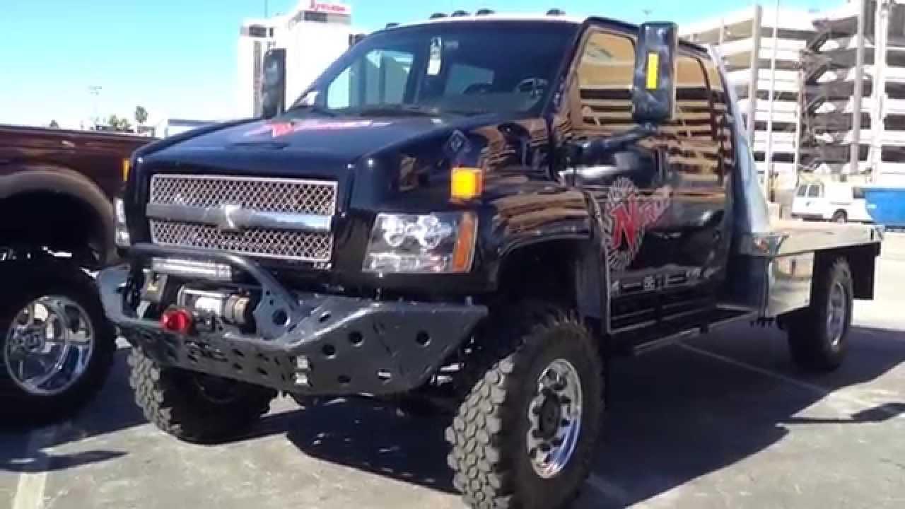Chevy 5500 at SEMA - YouTube