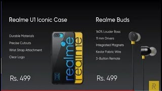 Realme U1 earphones and cases   Realme   Earbuds and case