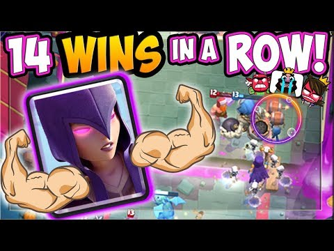 14 WINS in a ROW! This WITCH WALL BREAKER DECK is INSANE!!
