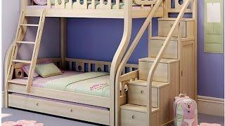 видео Двухъярусная выдвижная кровать
