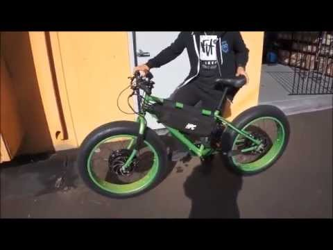 10 000 Watt Fat Bike Bigfoot Sighted Youtube