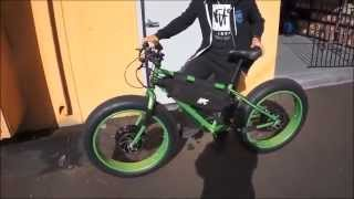 10,000 WATT FAT BIKE - BIGFOOT SIGHTED