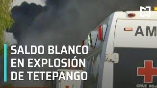 Explosión en toma clandestina de Tetepango   Saldo blanco en explosión en Tetepango - Las Noticias