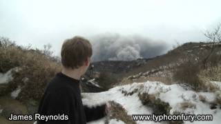 Covering Kirishima Volcano's Eruption For CNN In Japan thumbnail