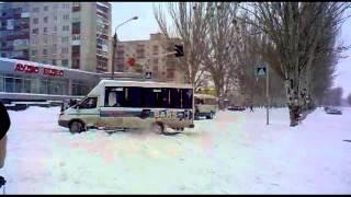 Жесть В Лисичанске из-за снега не ездит транспорт