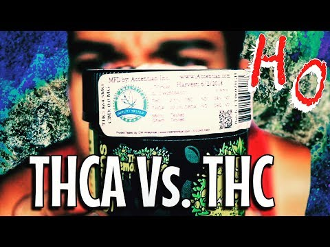 THCA VS. THC - What's The Difference?