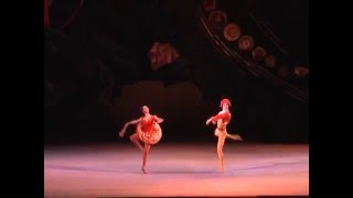 Chinara Alizade performs the Spanish Dance with unusual fouettes at...