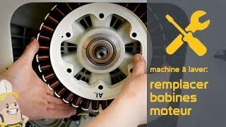 Remplacement des bobines moteur de votre lave linge | La méthode Référencepieces.fr