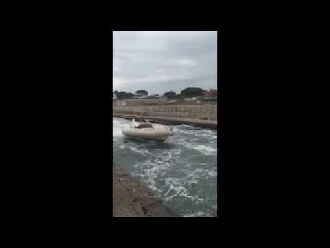 Rib Vs Big Waves, Port Royal Marine Solutions