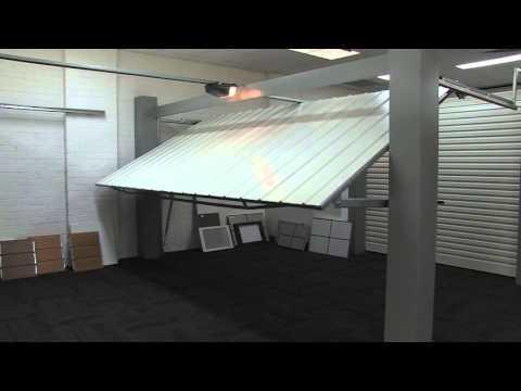 Automatic Tilt Garage Door Demonstration